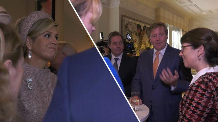 Nederlanders in Groot-Brittannië spraken in oktober vorig jaar met het Koningspaar over de brexit.