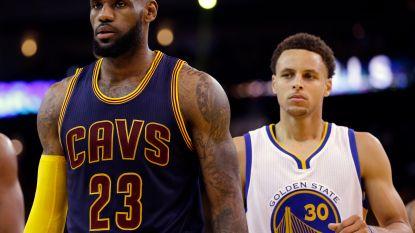 NBA-titel wordt voor vierde jaar op rij strijd tussen LeBron James en Stephen Curry