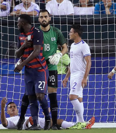 Concacaf schorst bijtende spelers van El Salvador