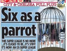 Europese kranten over chaos rond Super League: 'Super belachelijk'