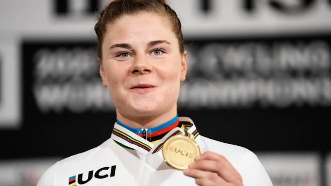 Het bewogen jaar van Lotte Kopecky: pech op de Spelen, ontgoocheling op het WK in Leuven, maar finaal glorie op de piste in Roubaix