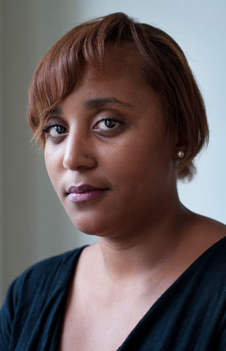 Kamfer: 'Wat deed het feminisme voor mijn moeder die schoonmaakster was? daar lever ik kritiek op.' Beeld Maarten Bezem