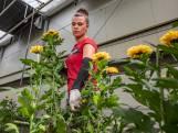 Vrouwen bloot, maar bloemenhandel nu verre van dood