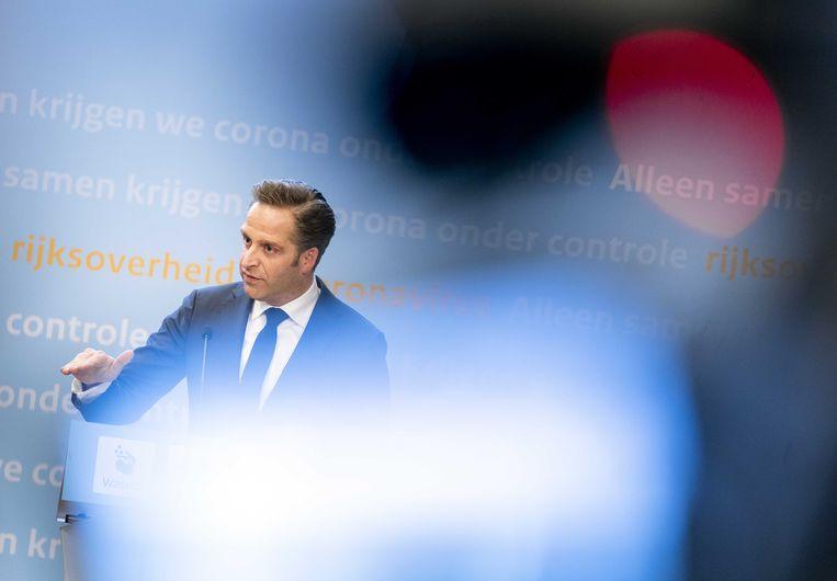 Demissionair minister Hugo de Jonge. Beeld ANP