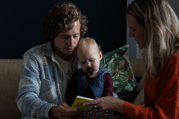 Jelle Krekels en zijn gezin.
