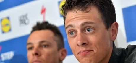 Terpstra juicht voor winnende ploegmaat Lampaert: 'Hele goede gast'