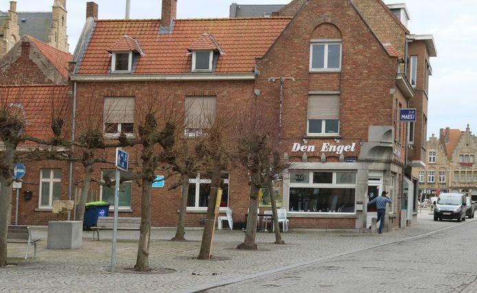 Café Den Engel in de Kiekenstraat in Diksmuide.