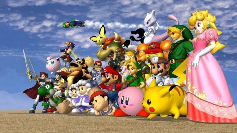 Super Smash Bros. Melee Beeld Nintendo