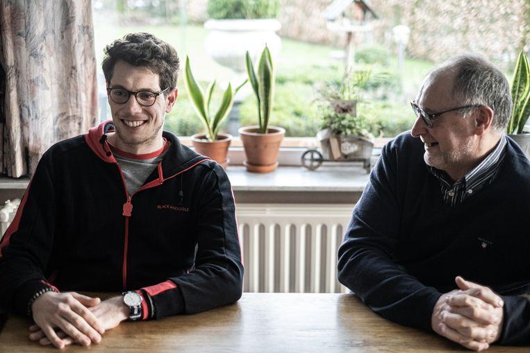Stig Broeckx schreef samen met ghostwriter Thijs Delrue een boek over zijn opmerkelijke revalidatie. Beeld Wouter Maeckelberghe