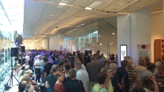 Feestelijke opening van  99+1 in Museum Het Valkhof.