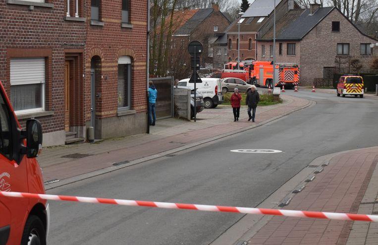 Brandweerpost Sint-Lievens-Houtem werd opgeroepen omdat er rook kwam uit één van de wagens.