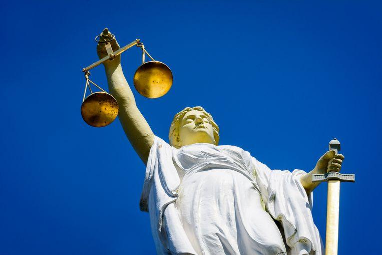 Vrouwe Justitia.  Beeld ANP XTRA