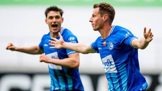 Nieuwe nederlaag voor KV Oostende: AA Gent haalt het nipt in Ghelamco Arena