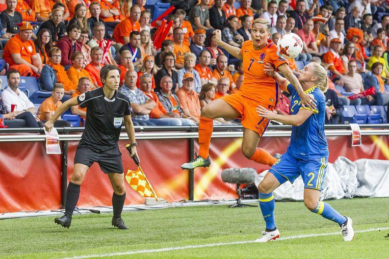 Shanice van de Sanden versus Jonna Andersson Beeld anp