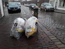 ZRD laat meer dan 200 'foute' vuilniszakken staan in Tholen