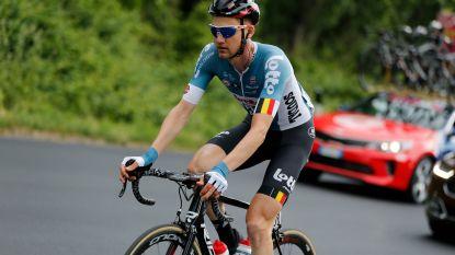 Ritwinnaar Wellens is ziek en trekt na overleg met ploegarts de stekker uit zijn Giro