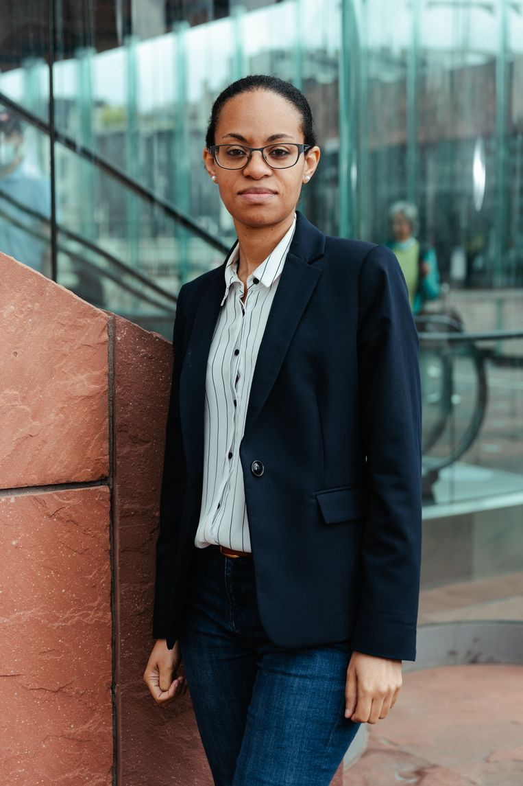 Nadia Nsayi. Beeld Damon De Backer