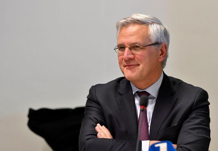 Minister van Werk en CD&V-vicepremier Kris Peeters. Beeld Photo News