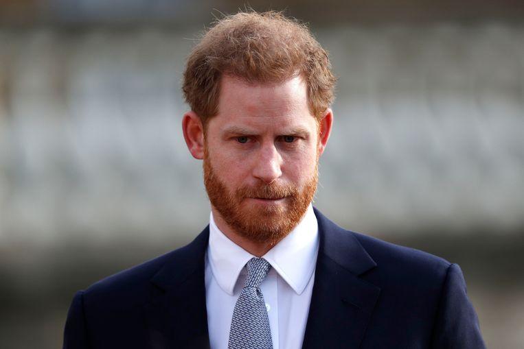 Prins Harry. Beeld AFP