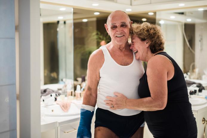De liefdevolle relatie van haar ouders inspireerde Ilse Wolf tot het maken van een serie over mantelzorg