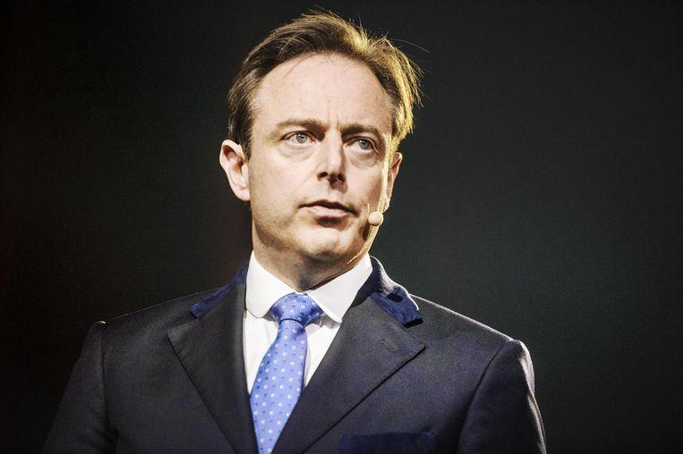 Bart De Wever wil snoeien in het bedrag dat de bonden krijgen, al interpreteerde hij die cijfers wel nogal vrij. Beeld Eric de Mildt