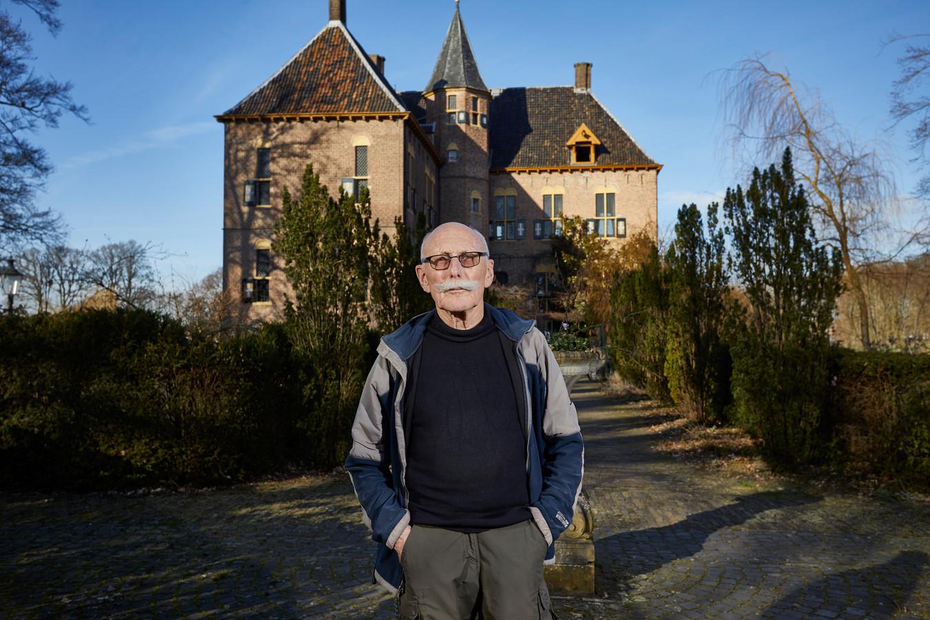 Vordenaar Berd Wegman botste eerder met de bewoners van Kasteel Vorden, toen hij het kasteel aan zijn kleindochter wilde laten zien.