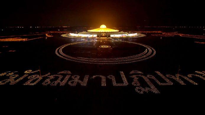 Journée internationale de la paix : 200 000 bougies allumées en Thaïlande.
