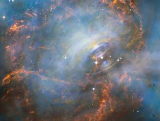 Nieuwe Hubble-foto biedt eerste blik binnenin Krabnevel
