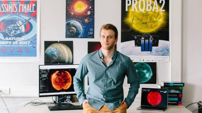 """Wellenaar Nicolas Wijsen voorspelt weer in de ruimte: """"Zonne-uitbarstingen kunnen schadelijk zijn voor satellieten en astronauten"""""""
