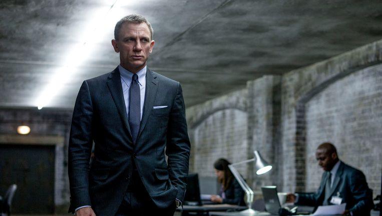 Daniel Craig als James Bond in de film Skyfall. Beeld AP