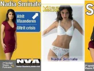 Pas verkozen Nadia Sminate (N-VA) vroeger lingeriemodel