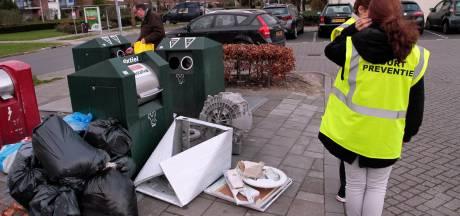 Camera's en drukmatten in strijd tegen afvaldumpers in Almelo