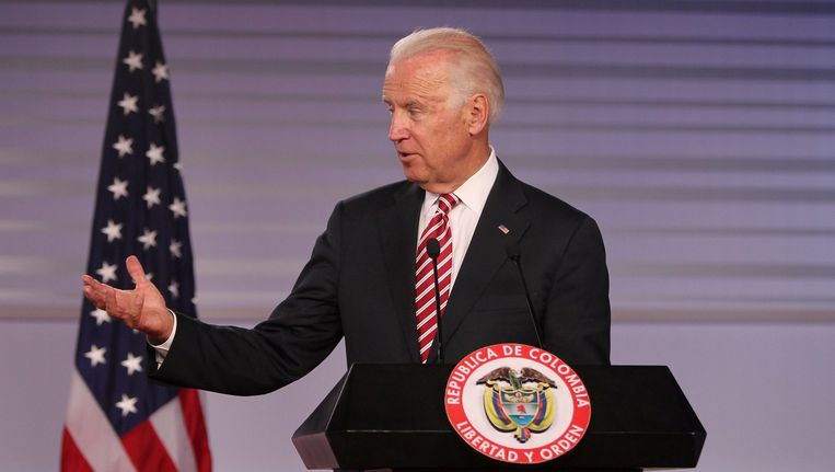 De Amerikaanse vicepresident Joe Biden. Beeld epa
