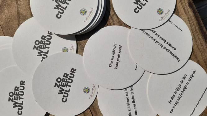 Cultuurraad trakteert terrasgangers tijdens verlengd horecaweekend op leuke bierkaartjes