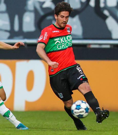 NEC verslaat hekkensluiter Dordrecht in blessuretijd, Almere City tegenstander in play-offs