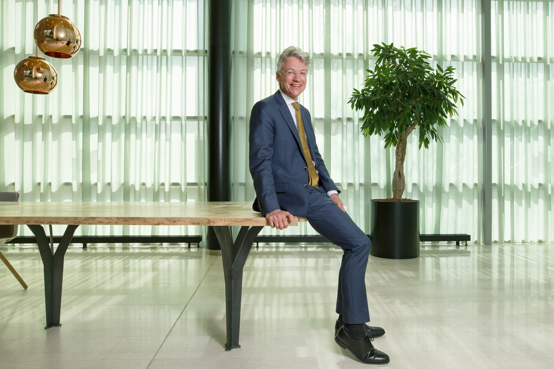Maarten Camps, de nieuwe topman van het UWV, zit vol nieuwe plannen.