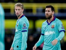 Koeman heeft Suárez niet nodig bij officieus Barça-debuut, Messi en De Jong wél opgeroepen