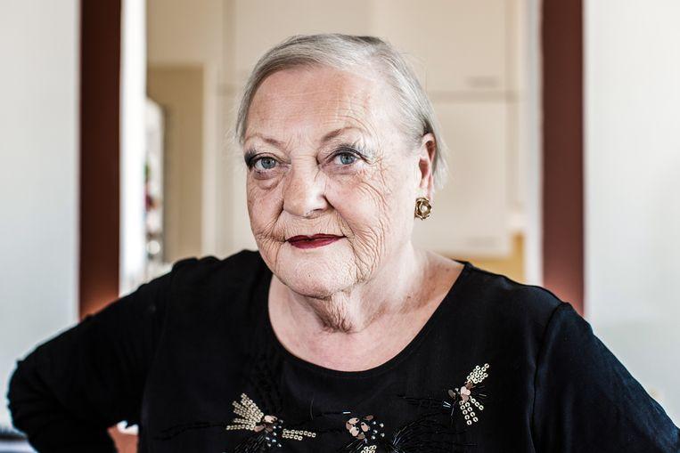 Actrice Viviane De Muynck werd op de Ultimas bekroond met de prijs voor Algemene Culturele Verdienste. Beeld Bob Van Mol