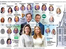 Nederland krijgt een eigentijds kabinet (alleen een beetje wit)