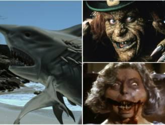 Kannibalistische oma's en vliegende haaien: de meest bizarre horrorfilms ooit gemaakt