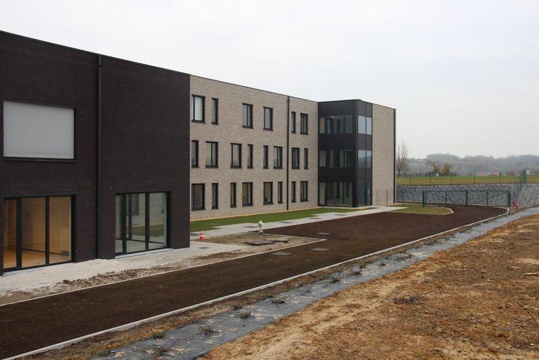 De nieuwe vleugel van woonzorgcentrum Haagwinde is ondertussen al in gebruik genomen.
