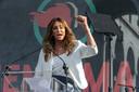 Caitlyn Jenner, vorig jaar op een politieke bijeenkomst in Los Angeles.