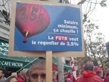 """Blocage sur l'augmentation des salaires minimum: """"La balle est dans le camp de la FGTB"""""""