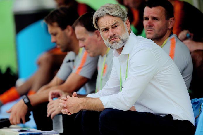 Peter van de Veen, bondscoach Oranje O17.