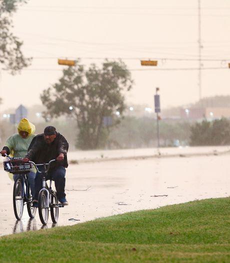 Orkaan Nicholas aan land gekomen in Texas