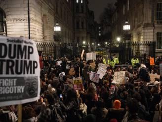 Tienduizenden Britten op straat op tegen Trumps inreisverbod en aankomend staatsbezoek