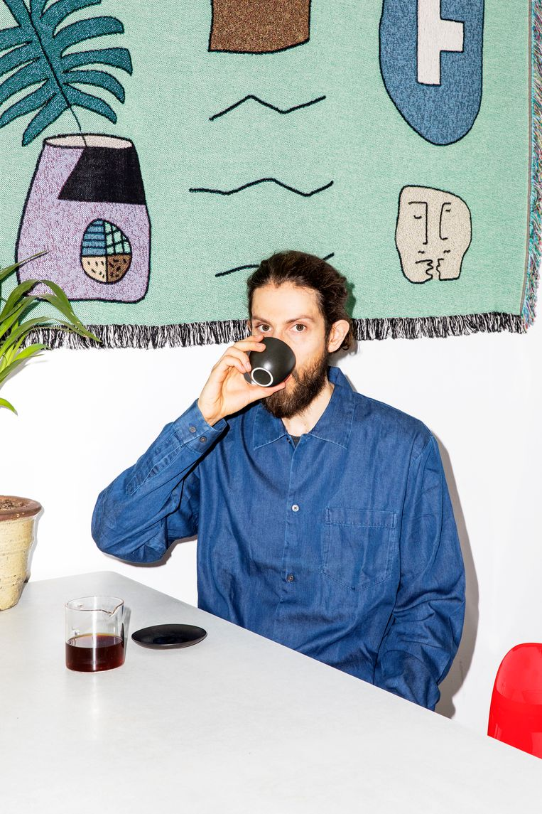Dylan Sedgwick in Fuku. Beeld Marie Wanders