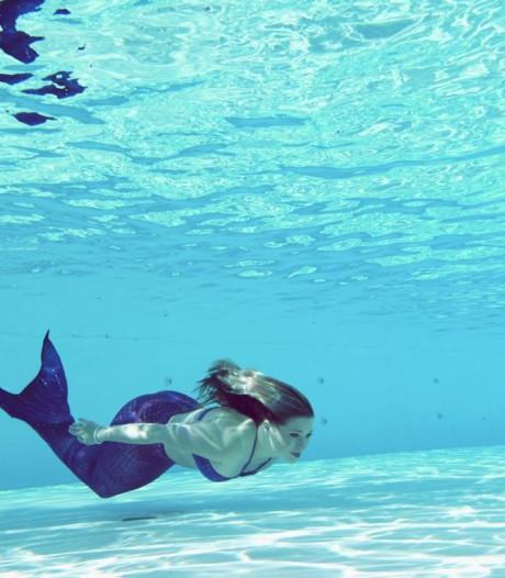 Zwemmen als een zeemeermin in Woerden