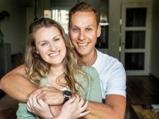 Sjoerd en Jolijn stelden hun bruiloft drie keer uit: 'Wordt nu extra mooi met ons kindje erbij'