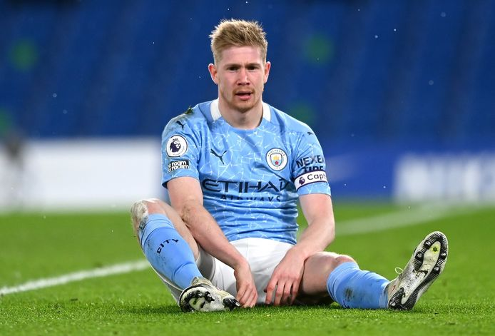 Kevin De Bruyne was de City-uitblinker op Stamford Bridge.